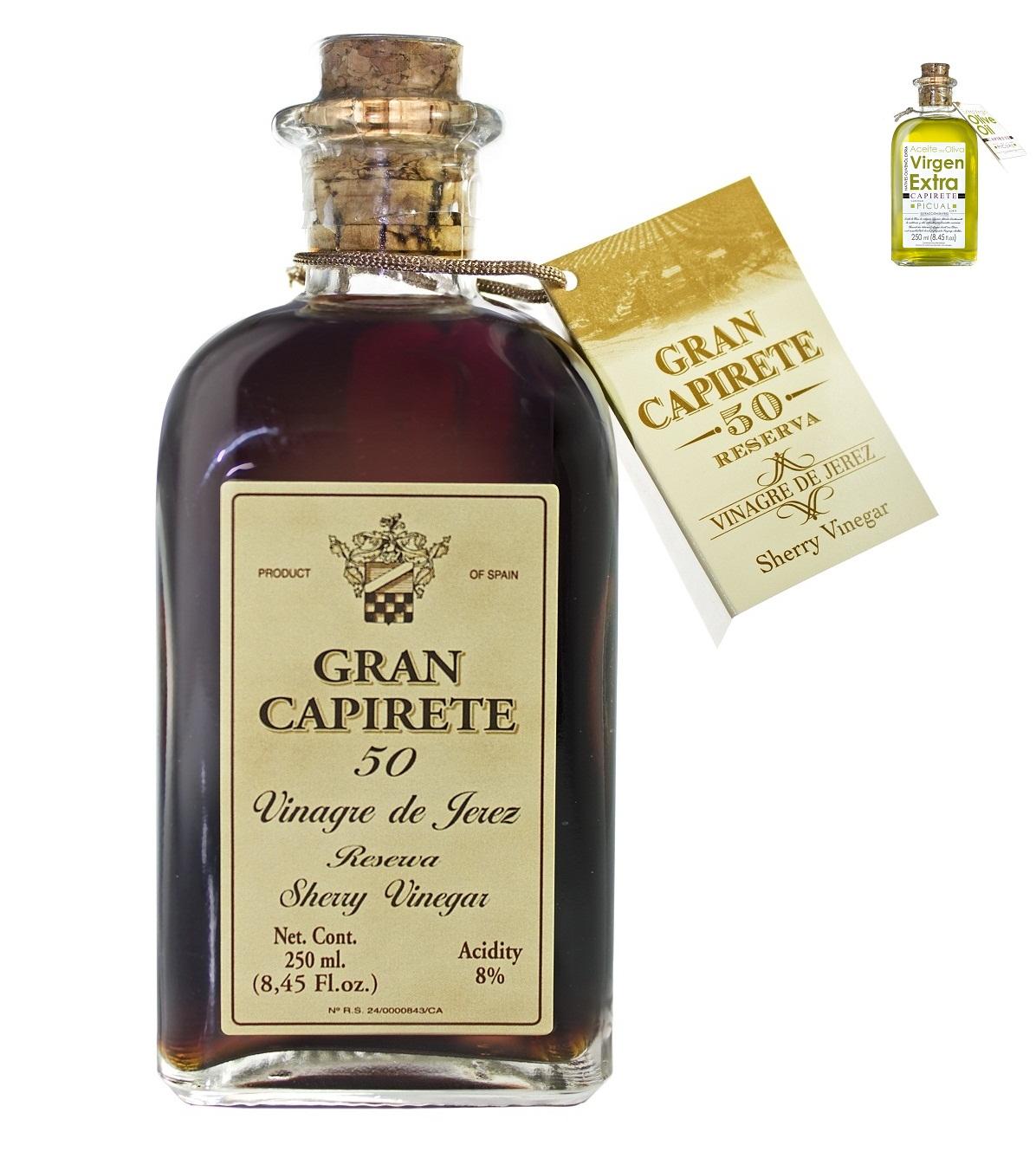 Vinaigre de Xérès et Huiles d'Olive Vierges Extra - 250 ml