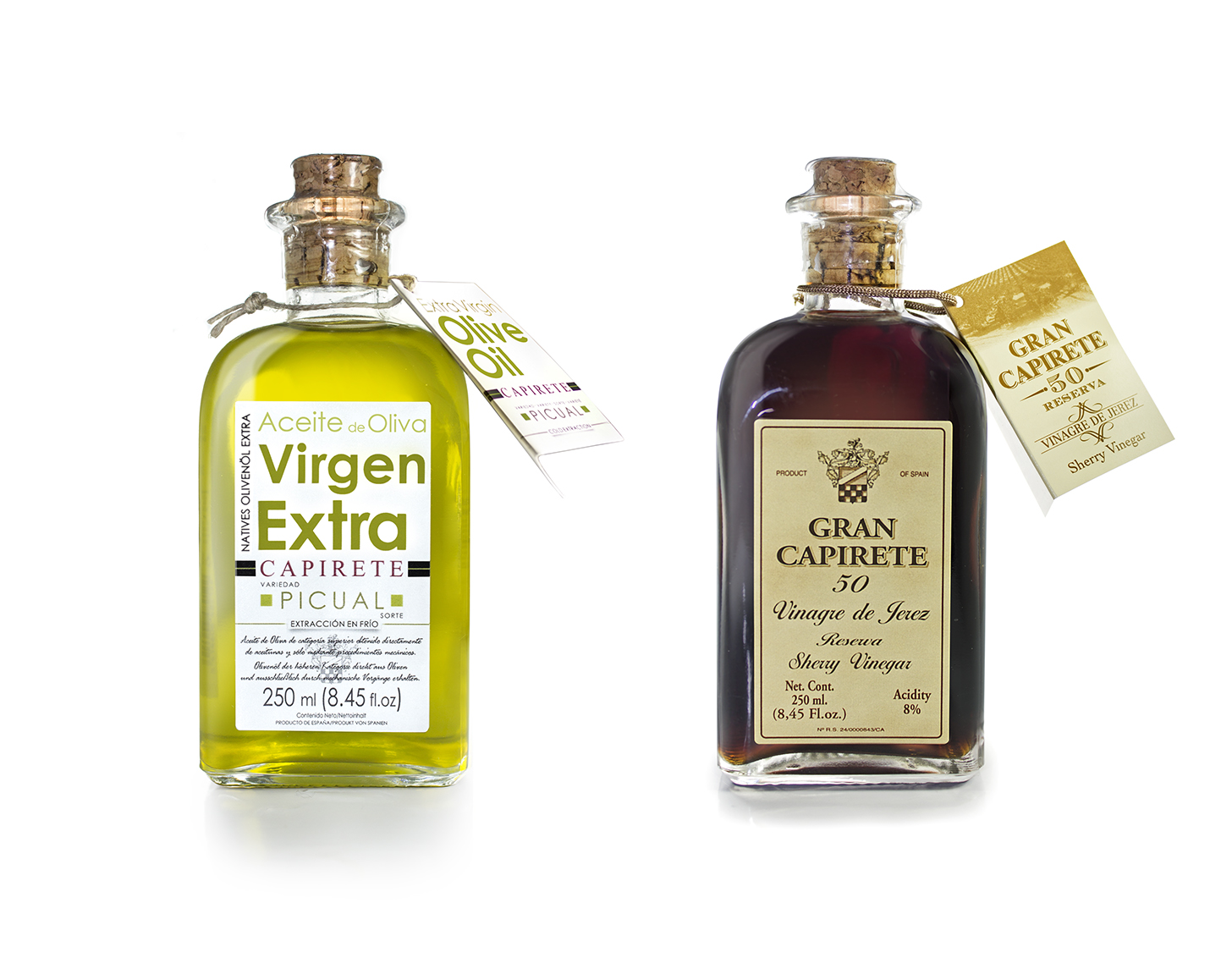 CAPIRETE - Sherry Vinegar + EVOO - 250 ml